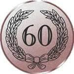 Emblem Jubiläum 60, 50mm Durchmesser