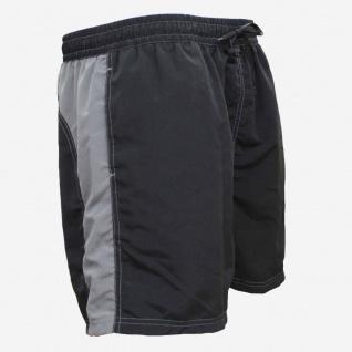 Badehose - Schwimmhose Adrian schwarz/grau