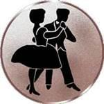 Emblem Tanzen, 50mm Durchmesser