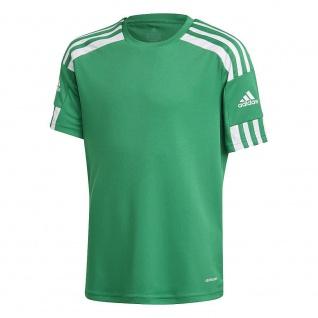 adidas Kinder T-Shirt Squadra 21 grün/weiß