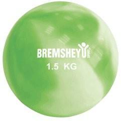 Yoga Ball / Toning Ball grün 1, 5 kg