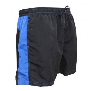 Badehose - Schwimmhose Adrian schwarz/blau