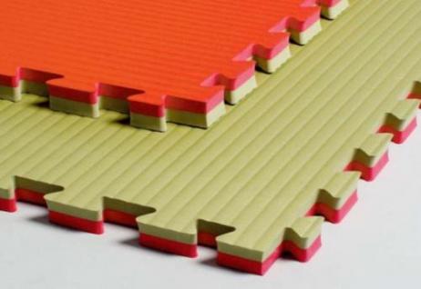 Universalmatte grün/rot - 4 cm