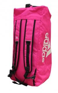 adidas Sporttasche - Sportrucksack pink/silber - Vorschau 3