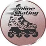 Emblem In-Line-Skating, 50mm Durchmesser - Vorschau 1