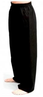 Schwere Hose schwarz mit Knieverstärkung