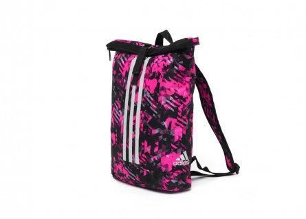 adidas Seesack - Sportrucksack camouflage pink, Gr. S