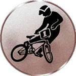 Emblem BMX-Fahrer, 50mm Durchmesser