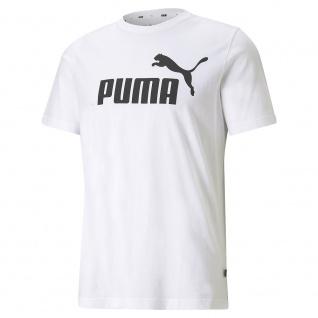 Puma T-Shirt ESS Logo Tee weiß