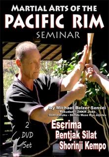 2 DVD Box Martial Arts of the Pacific Rim Seminar