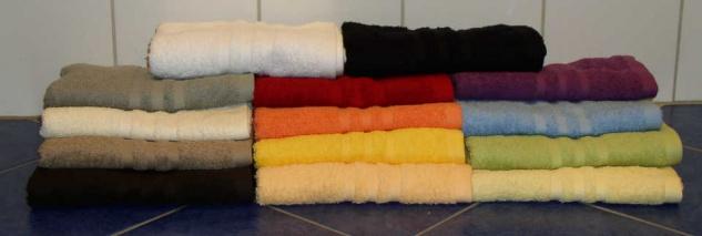 Handtuch Sylt einfarbig 50x100 cm