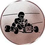 Emblem Go-cart, 50mm Durchmesser