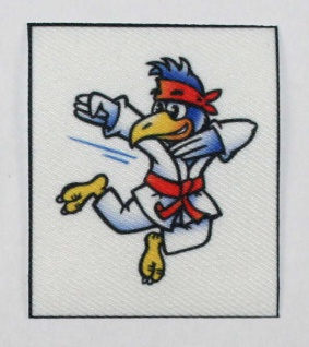 Gürtelpatch Vogel
