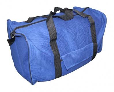 Judotasche blau aus Judoanzugstoff (Größe: M)