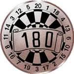 Emblem Dart, 50mm Durchmesser
