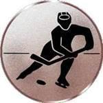 Emblem Eishockey, 50mm Durchmesser