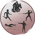 Emblem Fünfkampf, 50mm Durchmesser