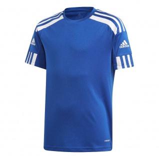 adidas Kinder T-Shirt Squadra 21 royalblau/weiß