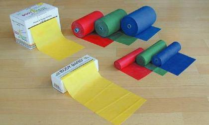Dittmann Bodyband (Therapieband) 5,5 m gelb (leicht) - Vorschau 1