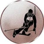 Emblem Ski-Slalom, 50mm Durchmesser