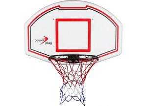 Basketballkorb mit Zielbrett weiß