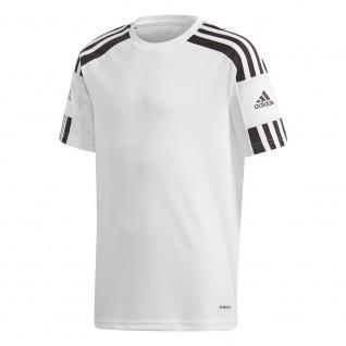 adidas Kinder T-Shirt Squadra 21 weiß/schwarz