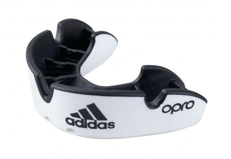 adidas Zahnschutz Opro Silver senior weiß