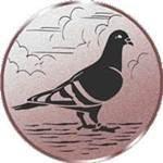Emblem Taube, 50mm Durchmesser