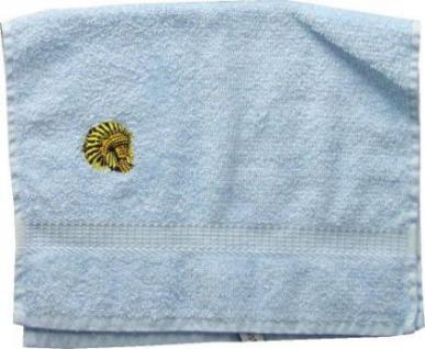 Handtuch aus Frottee mit Bestickung Indianer - Vorschau