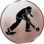 Emblem Kegeln-Herren, 50mm Durchmesser - Vorschau 1