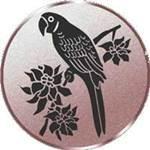 Emblem Papagei, 50mm Durchmesser