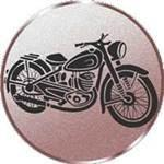 Emblem Oldtimer Motorrad, 50mm Durchmesser