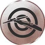 Emblem Armbrust, 50mm Durchmesser