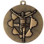 Medaille Rennen Ø50mm gold