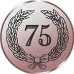 Emblem Jubiläum 75, 50mm Durchmesser
