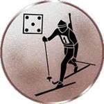 Emblem Biathlon, 50mm Durchmesser
