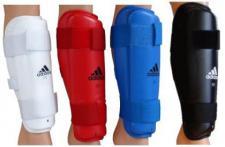 Schienbeinschützer Adidas weiß