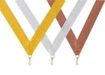 Medaillen Band silber