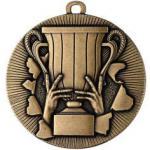 Medaille neutral Ø50mm gold