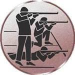 Emblem Dreistellungskampf, 50mm Durchmesser