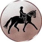 Emblem Reiter, 50mm Durchmesser