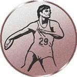 Emblem Diskuswerfen, 50mm Durchmesser