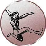 Emblem Weitsprung Herren, 50mm Durchmesser