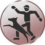 Emblem Hundeführer, 50mm Durchmesser