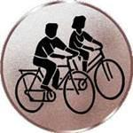Emblem Radwandern, 50mm Durchmesser