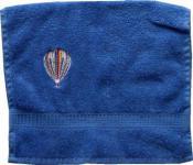 Handtuch aus Frottee mit Bestickung Heißluftballoon