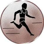 Emblem Läufer, 50mm Durchmesser