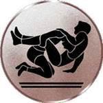 Emblem Ringen, 50mm Durchmesser