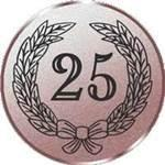Emblem Jubiläum 25, 50mm Durchmesser