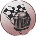 Emblem Rennsport, 50mm Durchmesser